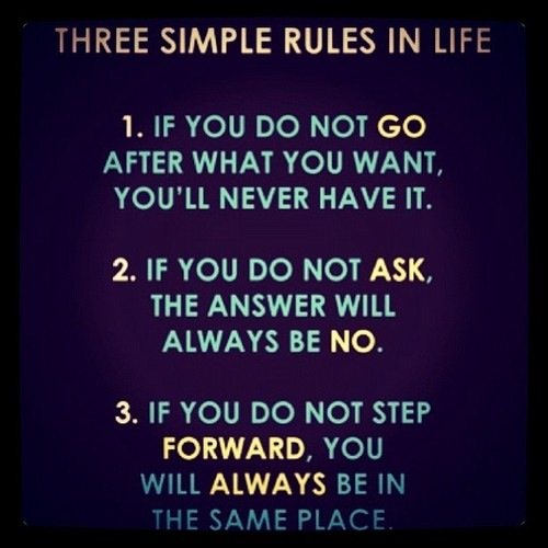 A Few Rules to Live By