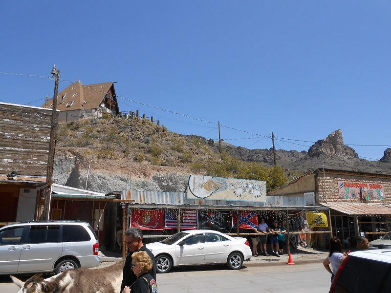 Travelling Route 66, Oatman and Williams
