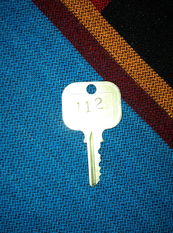 Our only room key that was ACTUALLY a key