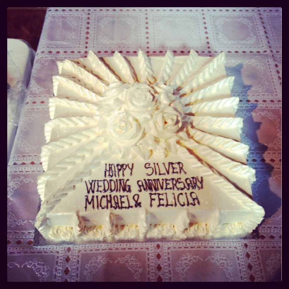 The Silver Wedding Anniversary