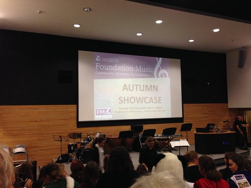 Foundation Music Showcase