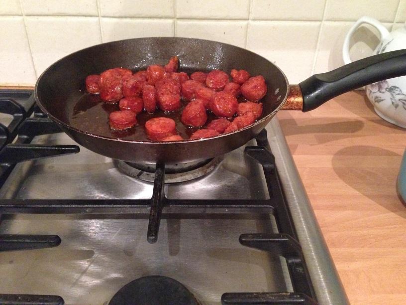 Chorizo and Butternut Squash Risotto