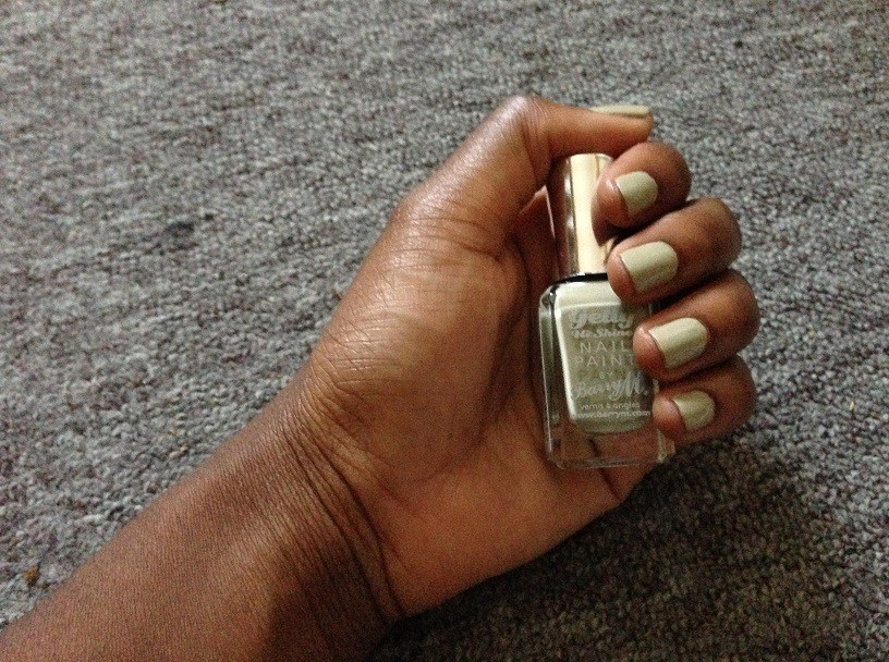 Olive Gelly Nails