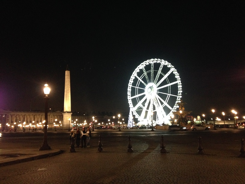Exploring Paris: Paris By Night