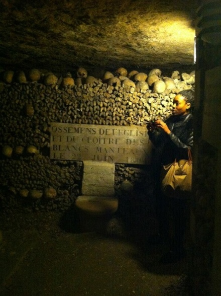 Exploring Paris: Eiffel Tower & Catacombs